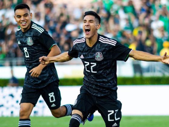Foto: Facebook Oficial Selección Mexicana / Uriel Antuna