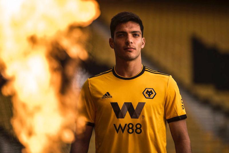 Raúl Jiménez. Foto: Facebook Oficial Wolverhampton