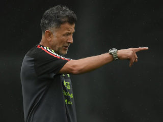 Foto: Juan Carlos Osorio / Twitter oficial Selección Mexicana