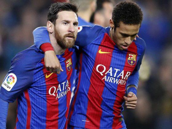 Foto: Neymar Jr. y Lionel Messi, en Barcelona / EFE