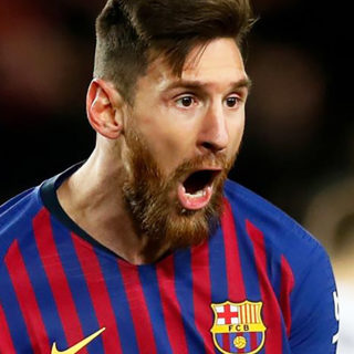 Foto: Lionel Messi, del FC Barcelona / Facebook Oficial