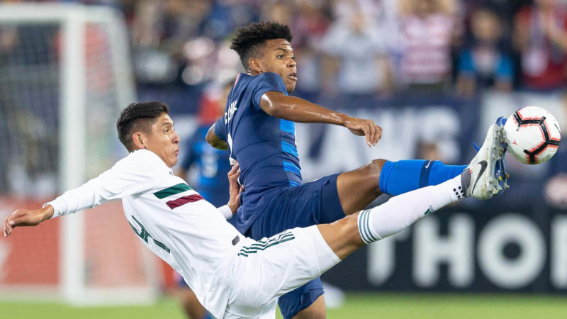 Foto: Mexico vs EEUU / Twitter Oficial USSoccer