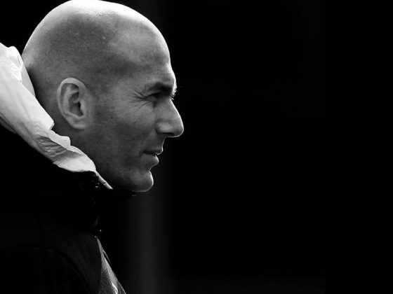 Foto: Zinedine Zidane, DT del Real Madrid / Real Madrid Facebook Oficial