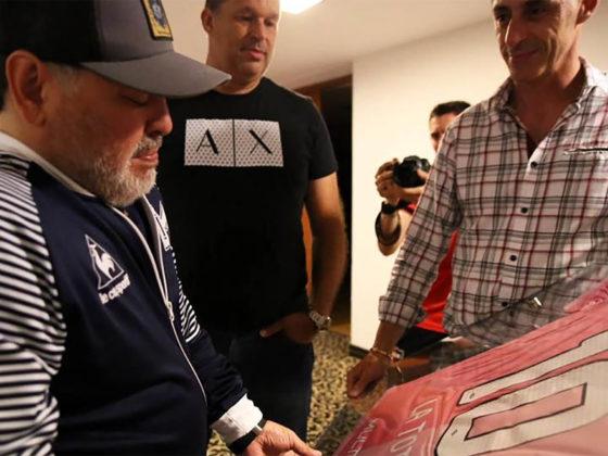Foto: homenaje a Diego Maradona / Newells Old Boys Oficial