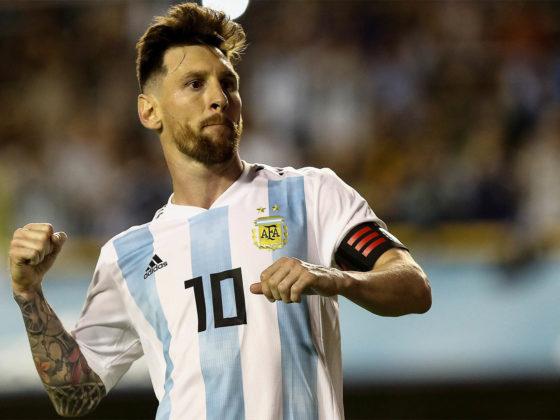 Foto: Lionel Messi, con Argentina / EFE