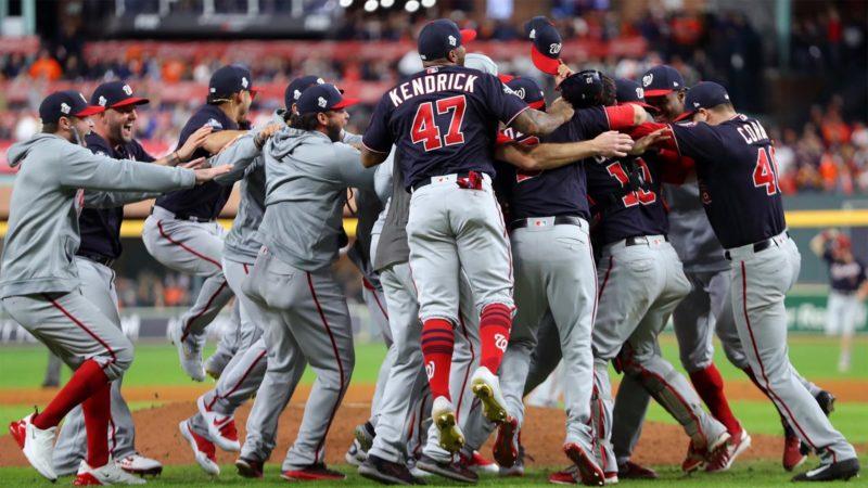 Foto: Washington Nationals / MLB Twitter Oficial