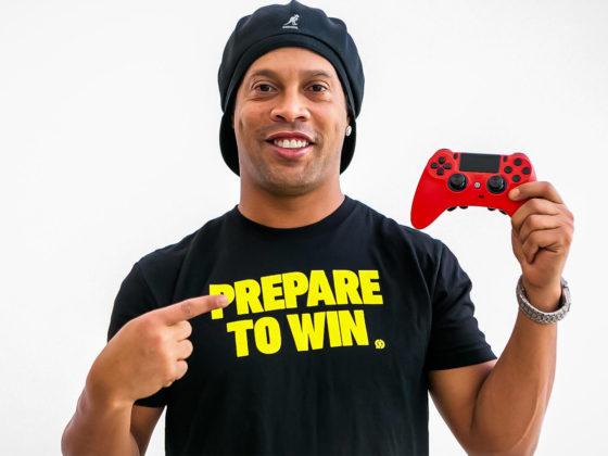 Ronaldinho y su equipo de eSports