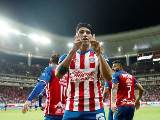 Foto: Alan Pulido, de Chivas / EFE