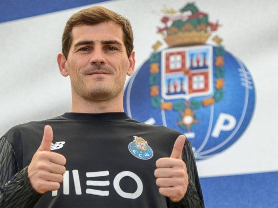 Foto: Iker Casillas, de Porto / Facebook