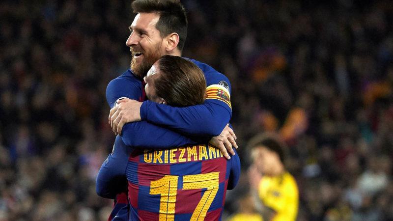 Foto: Lionel Messi del Barcelona / EFE