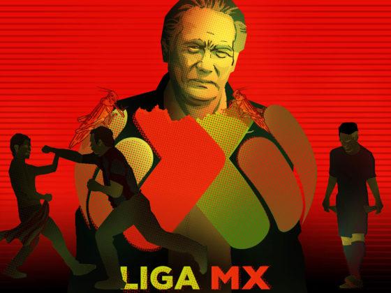 Ilustración: Octubre negro Liga MX / Fernando Pinilla