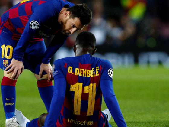 Foto: Ousmane Dembélé, del Barcelona / EFE