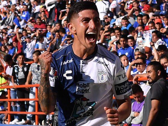 Víctor Guzman, del Pachuca / Facebook Oficial