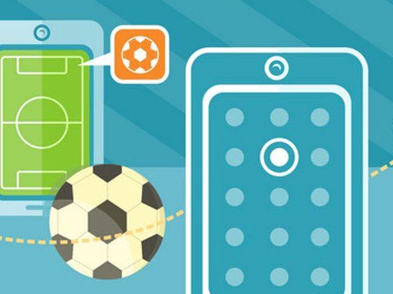Aplicación de fútbol