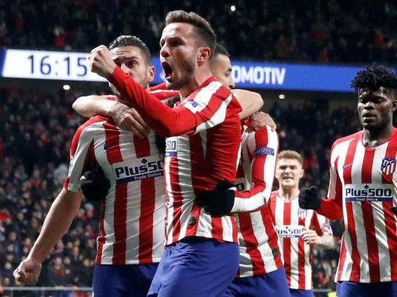 Foto: Atletico de Madrid en festejo / EFE