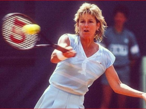 Chris Evert. Foto: YouTube