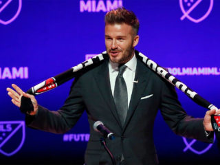 Foto: David Beckham, del Inter Miami / Facebook Oficial
