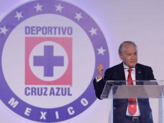 Foto: Guillermo Álvarez, de Cruz Azul / Facebook