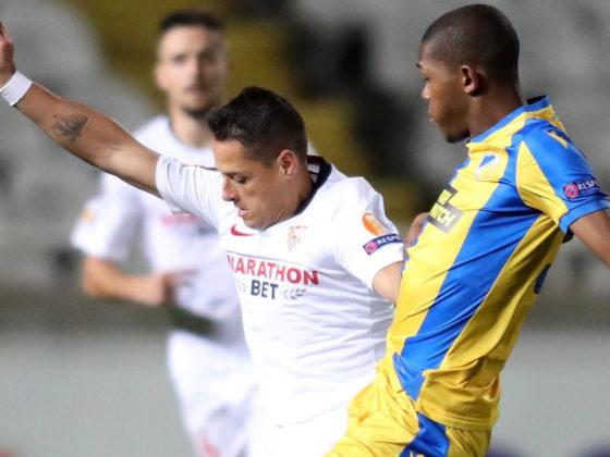 Foto: Javier Chicharito Hernández de Sevilla / EFE