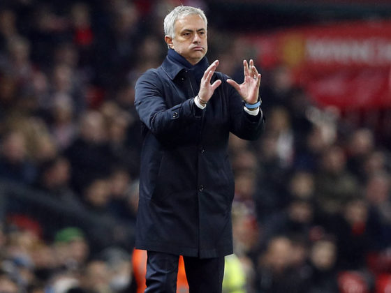 Foto: Jose Mourinho, DT del Tottenham / EFE