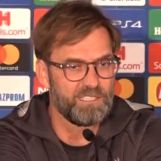 Jurgen Klopp, Director técnico del Liverpool. Foto: Captura de pantalla Youtube.