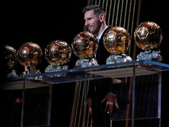 Foto: Lionel Messi, 6to Balon de Oro / Twitter Barcelona Oficial
