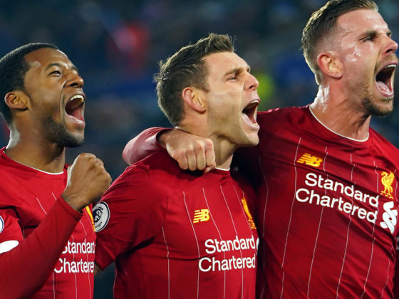 Foto: James Milner, del Liverpool / EFE