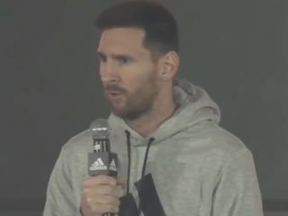 Lionel Messi. Foto: YouTube.