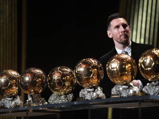 Leo Messi. Foto: Twitter France Football