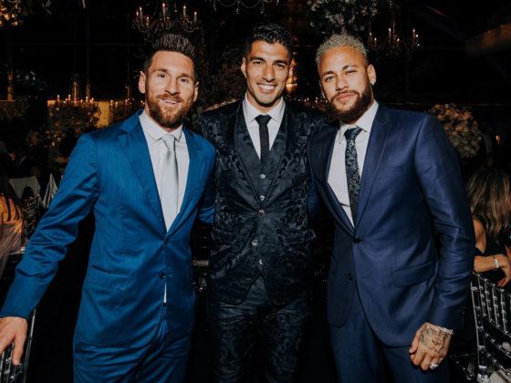 Foto: Neymar, Leo Messi y Luis Suarez, la MSN / EFE