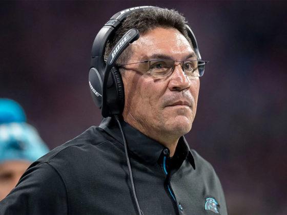 Foto: Ron Rivera, de Carolina Panthers / Sitio Oficial