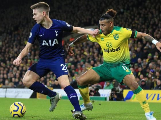 Foto: Tottenham vs Norwich / Twitter Oficial