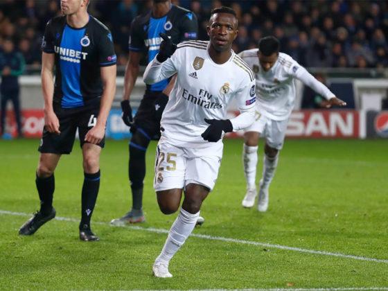 Foto: Vinicuis, de Real Madrid / Twitter Oficial