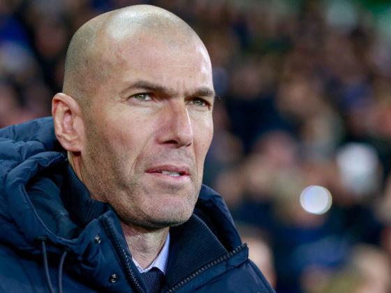 Foto: Zinedine Zidane, DT del Real Madrid / EFE