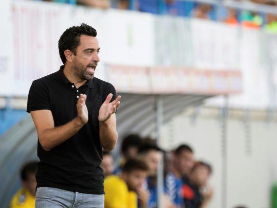 Xavi Hernández, entrenador del equipo catarí Al-Sadd Sports Club Foto: EFE/David Borrat.