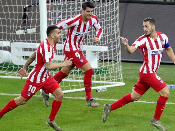Foto: Atlético de Madrid contra Barcelona / EFE