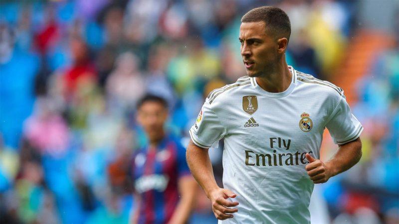 Foto: Eden Hazard, del Real Madrid / EFE