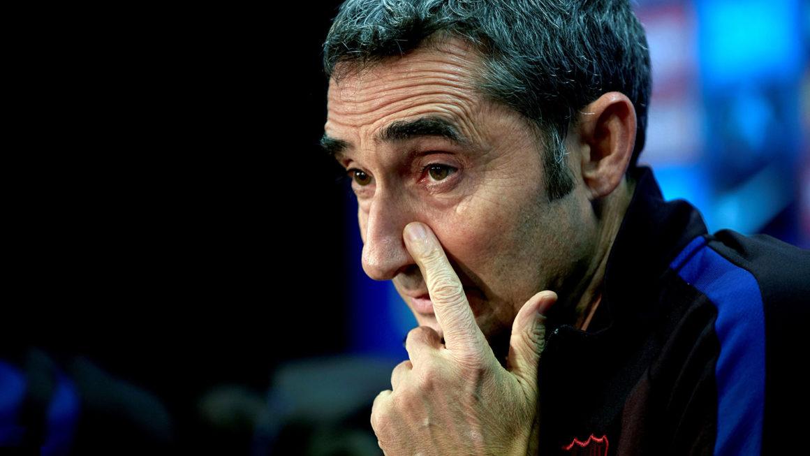 Foto: Ernesto Valverde, DT del Barcelona / EFE