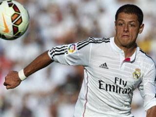 Foto: Javier Chicharito Hernández, del Real Madrid / EFE