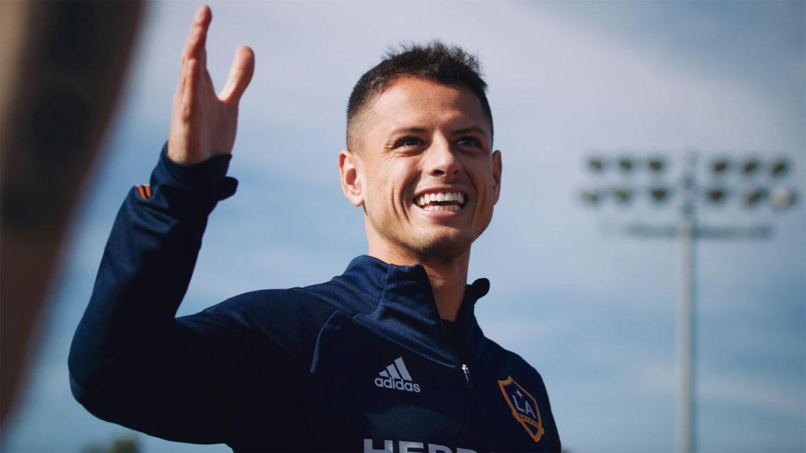 Foto: Javier Chicharito Hernandez / LA Galaxy Sitio Oficial
