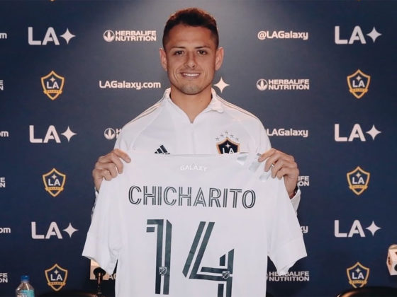 Foto: Javier Chicharito Hernandez / LA Galaxy Twitter Oficial