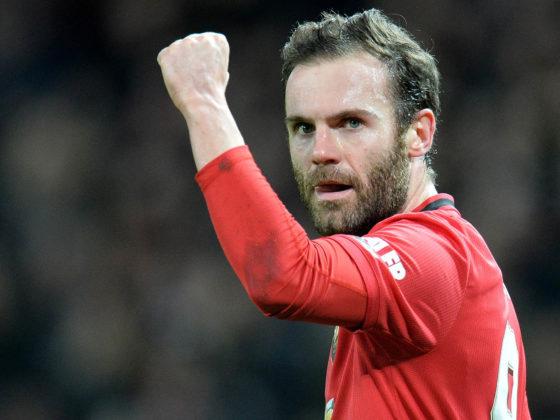 Foto: Juan Mata, del Manchester United / EFE