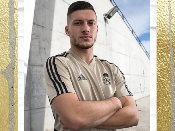 Foto: Luka Jovic, del Real Madrid / Facebook Oficial