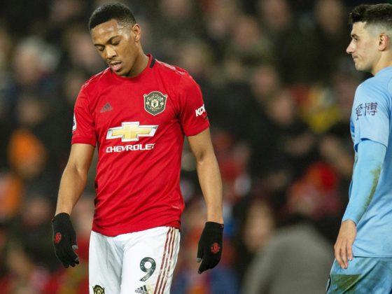 Foto: Anthony Martial del Manchester United / EFE