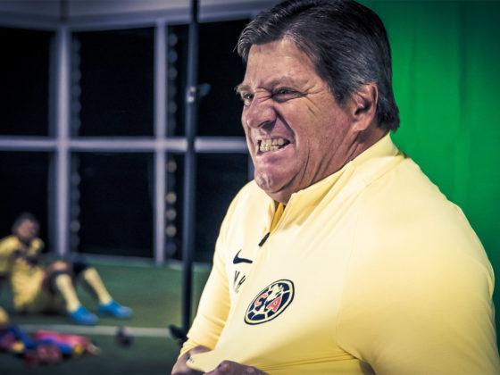 """Foto: Miguel """"Piojo"""" Herrera, DT del America / Facebook Oficial"""