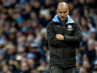 Foto: Pep Guardiola, DT del Manchester City / EFE