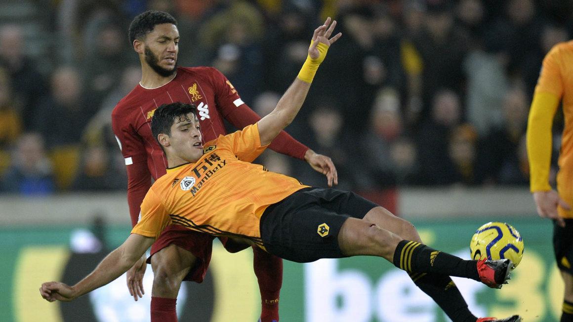Foto: Raúl Jimenez Wolverhampton vs Liverpool / EFE