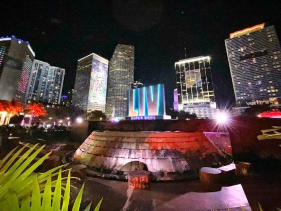 Miami, sede del Super Bowl. Foto: Twitter.