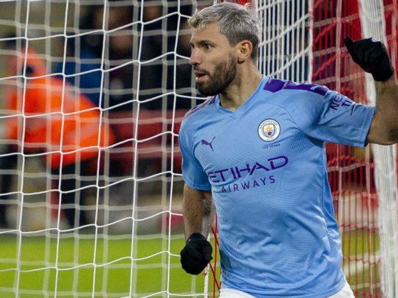 Foto: Sergio Kun Agüero, del Manchester City / EFE