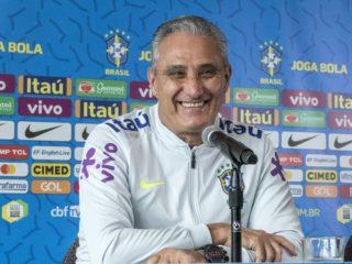 "El seleccionador brasileño, Adenor Leonardo Bacchi, ""Tite"". Foto: EFE."